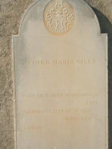 Tomba di Rilke