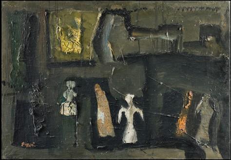 Mario Sironi, Composizione, 1957