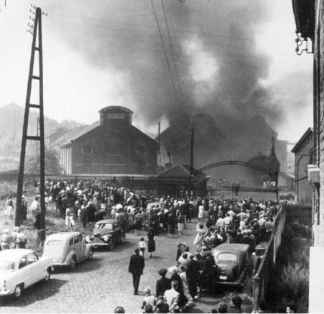 Marcinelle, 8 agosto 1956