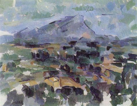 Paul Cézanne, Montagne Sinte Victoire, 1904-1906