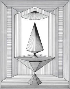 Lucio Saffaro, Il tempio di Talete