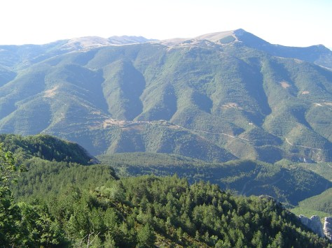 Montagna di Aucelon