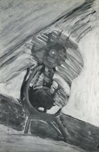 Henri Michaux, Clown, 1939
