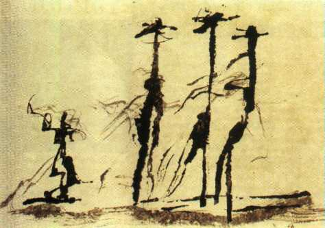 Michaux, La plume du peintre