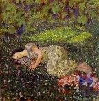 Felice Casorati, Il sogno del melograno, 1912
