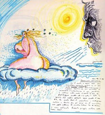 Disegno di Federico Fellini