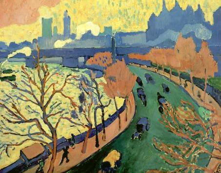 A. Derain, Il ponte di Westminster, 1906