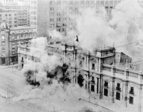 Bombardamento della Moneda