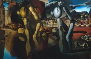 Salvador Dalì, Metamorfosi di Narciso, 1937