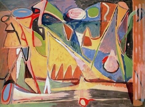Bram Van Velde, Senza titolo, 1954