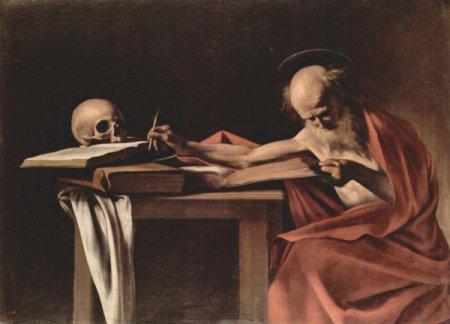 Caravaggio, San Girolamo