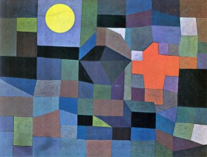 Paul Klee, Fire at Full Moon, 1933