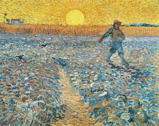 Van Gogh, Il seminatore, 1888