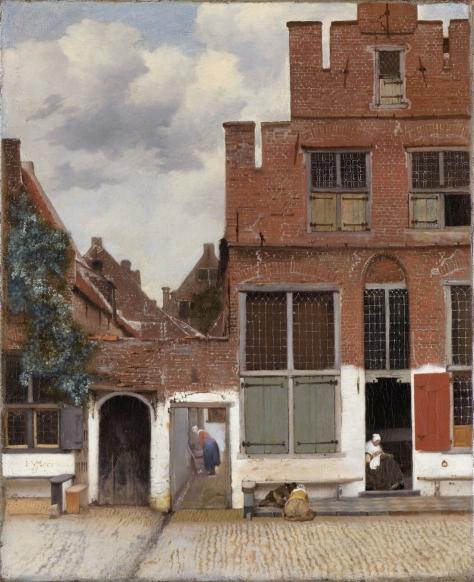 Vermeer, Stradina di Delft, 1658