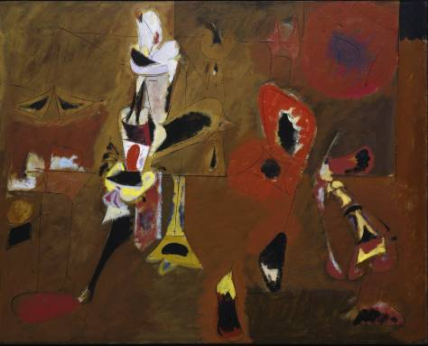Arshile Gorky, Agony, 1947