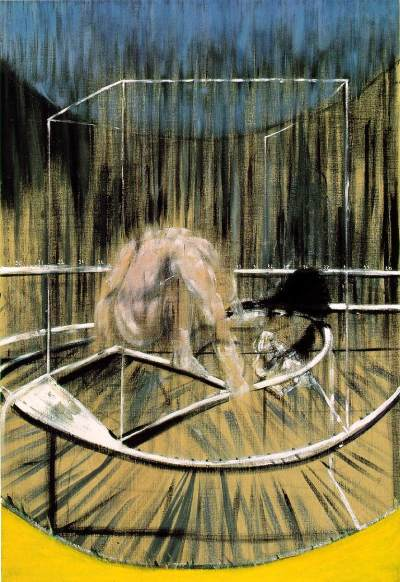 Francis Bacon, Study for crouching nude, 1952