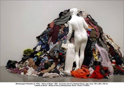 Michelangelo Pistoletto, Venus of Rags, 1967