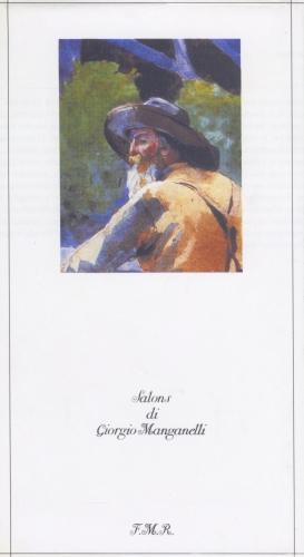 Giorgio Manganelli Salons, FMR, 1987