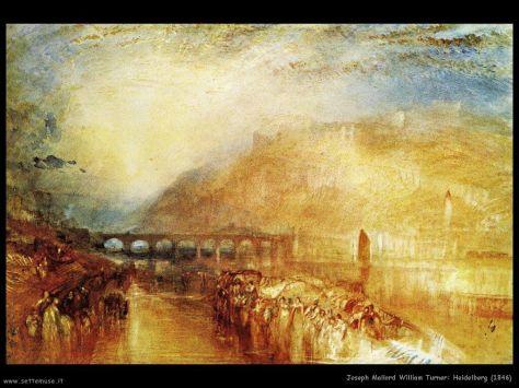 Joseph Turner, Heidelberg, 1846