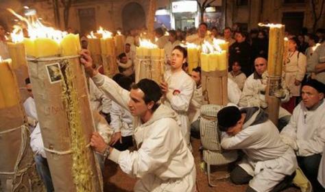 Offerta della cera - Festa di Sant'Agata