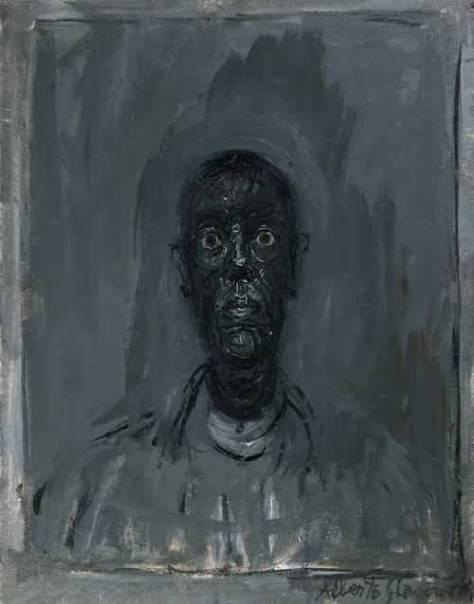 Alberto Giacometti Annette noire, 1962