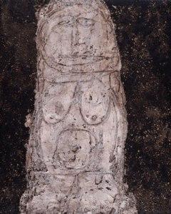 Dubuffet, Venus du trottoir, 1946
