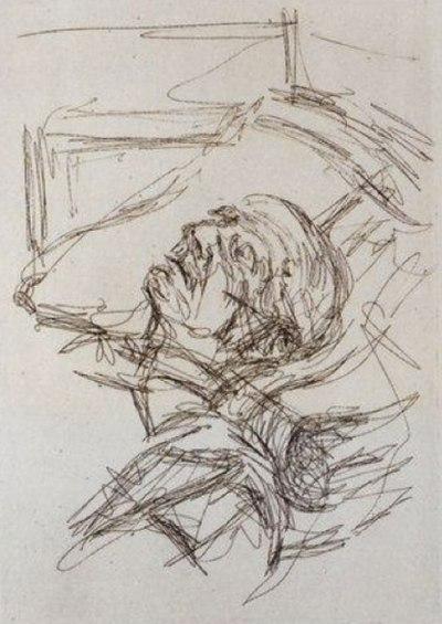 Alberto Giacometti, Michel Leiris