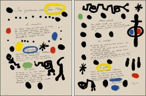 René Char Six patiences pour Joan Miro (1948)