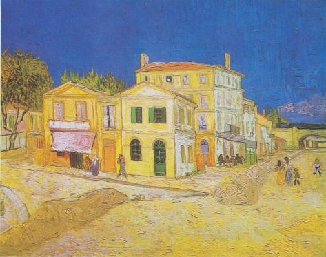 Van Gogh, La casa gialla, 1888