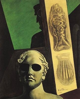 De Chirico, Ritratto di Apollinaire, 1914