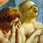 Masaccio, Cacciata di Adamo ed Eva, part.