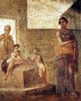 Medea, affresco pompeiano