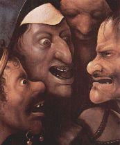 Hieronymus Bosch, Salita al Calvario (partic.)