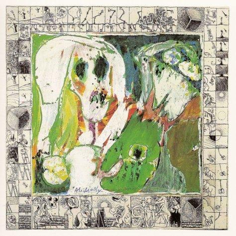 Pierre Alechinsky La jeune fille et la mort, 1967