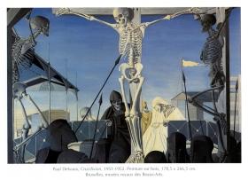 P. Delvaux, Crucifixion, 1951-52