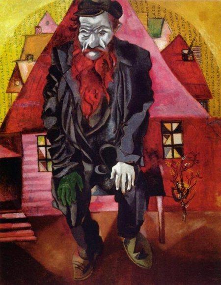 Marc Chagall, L'ebreo in rosa, 1915