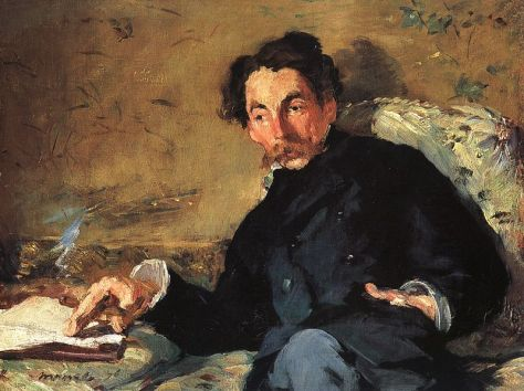Manet, Portrait of Stéphane Mallarmé