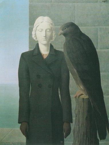 René Magritte, Les eaux profondes, 1941
