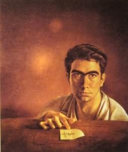 Tàpies, Autoritratto, 1950