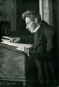 Luplau Janssen, Kierkegaard allo scrittorio