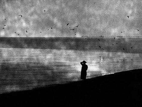 Mario Giacomelli - La notte lava la mente