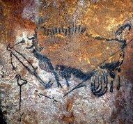 Lascaux, Uomo-uccello e bisonte
