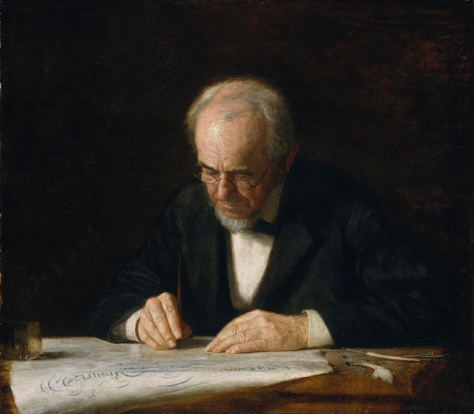 Thomas Eakins, The Writing Master, 1882