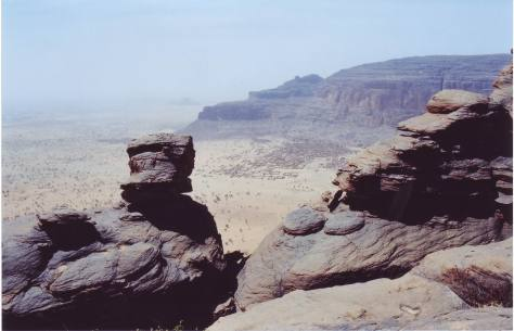 L'oasi di Boni, febbraio 2001