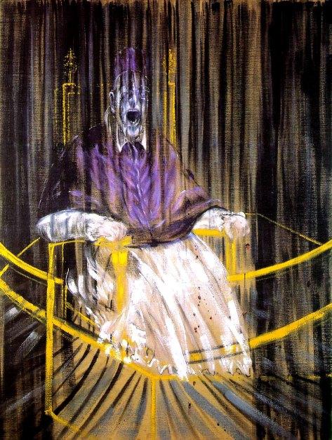 Francis Bacon, Ritratto di papa Innocenzo X, 1953