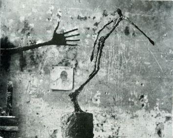 Alberto Giacometti, L'homme qui chavire