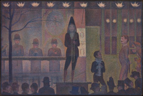 Georges Seurat, La parade de cirque