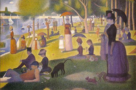 Georges Seurat, Un dimanche après-midi à l'île de la Grande Jatte