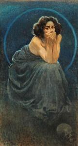 Giorgio Kienerk, Il silenzio, part.
