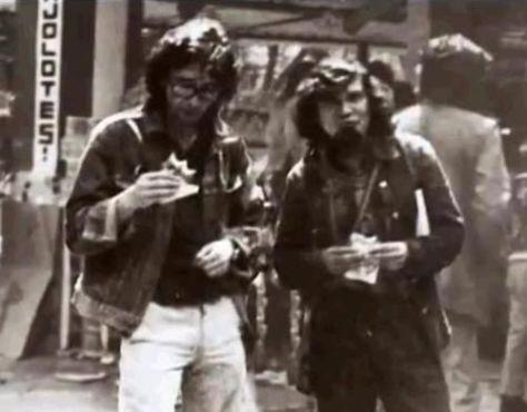 Roberto Bolaño e Mario Santiago